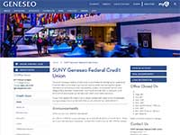 SUNY Geneseo Federal Credit Union