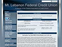 Mt. Lebanon Federal Credit Union