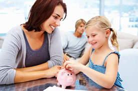 Study: Children Who Save Find Greater Financial Success in Life